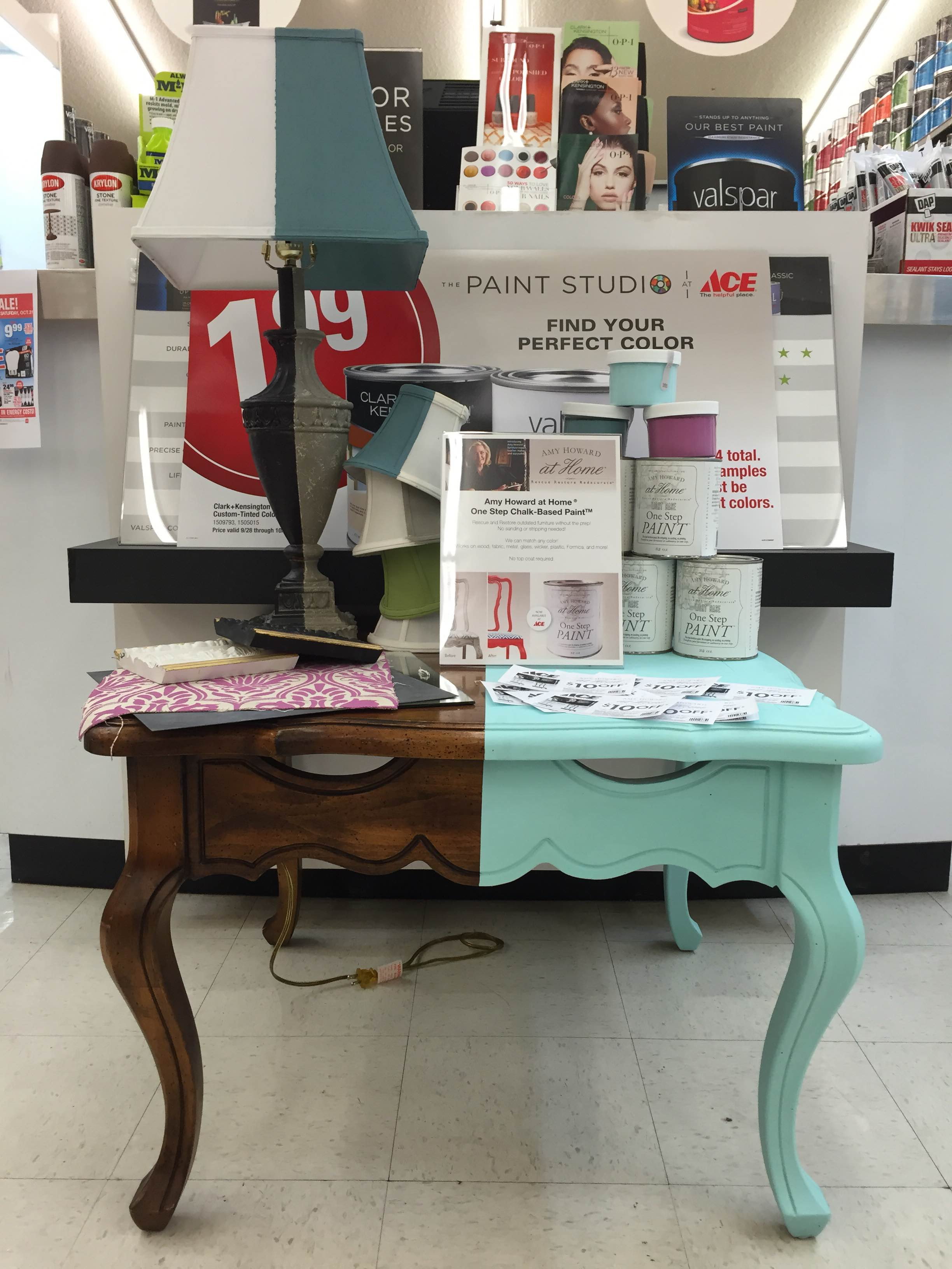 ace hardware chalk paint Toole's Ace Hardware | Introducing: Amy Howard at Home One Step  ace hardware chalk paint