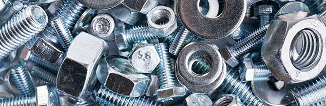 An image of nuts and bolts.