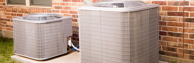 An image of two air conditioning units.