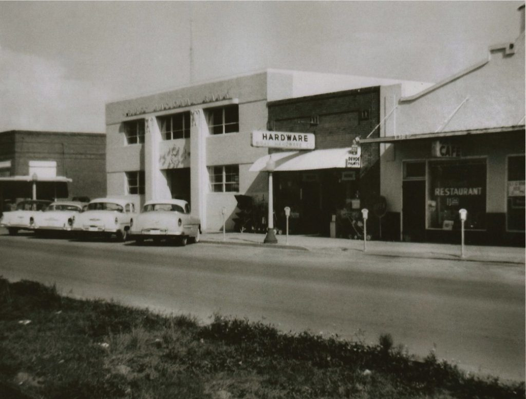 Original Toole's Hardware Store on Plan Street Winter Garden.