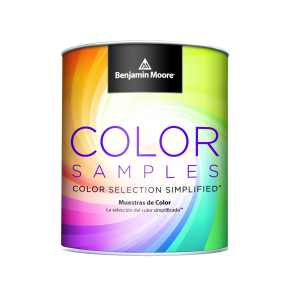Benjamin Moore Colors Samples Paint Can
