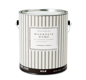 Can of Magnolia Home eggshell finish.