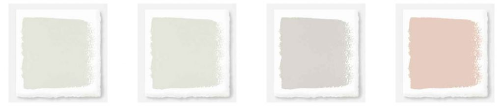 Magnolia Home paint swatches.
