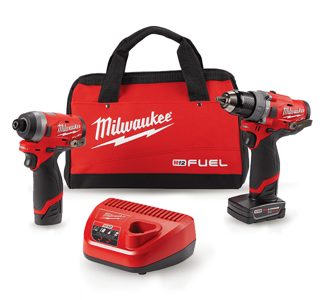 Set of Milwaukee Power Tools
