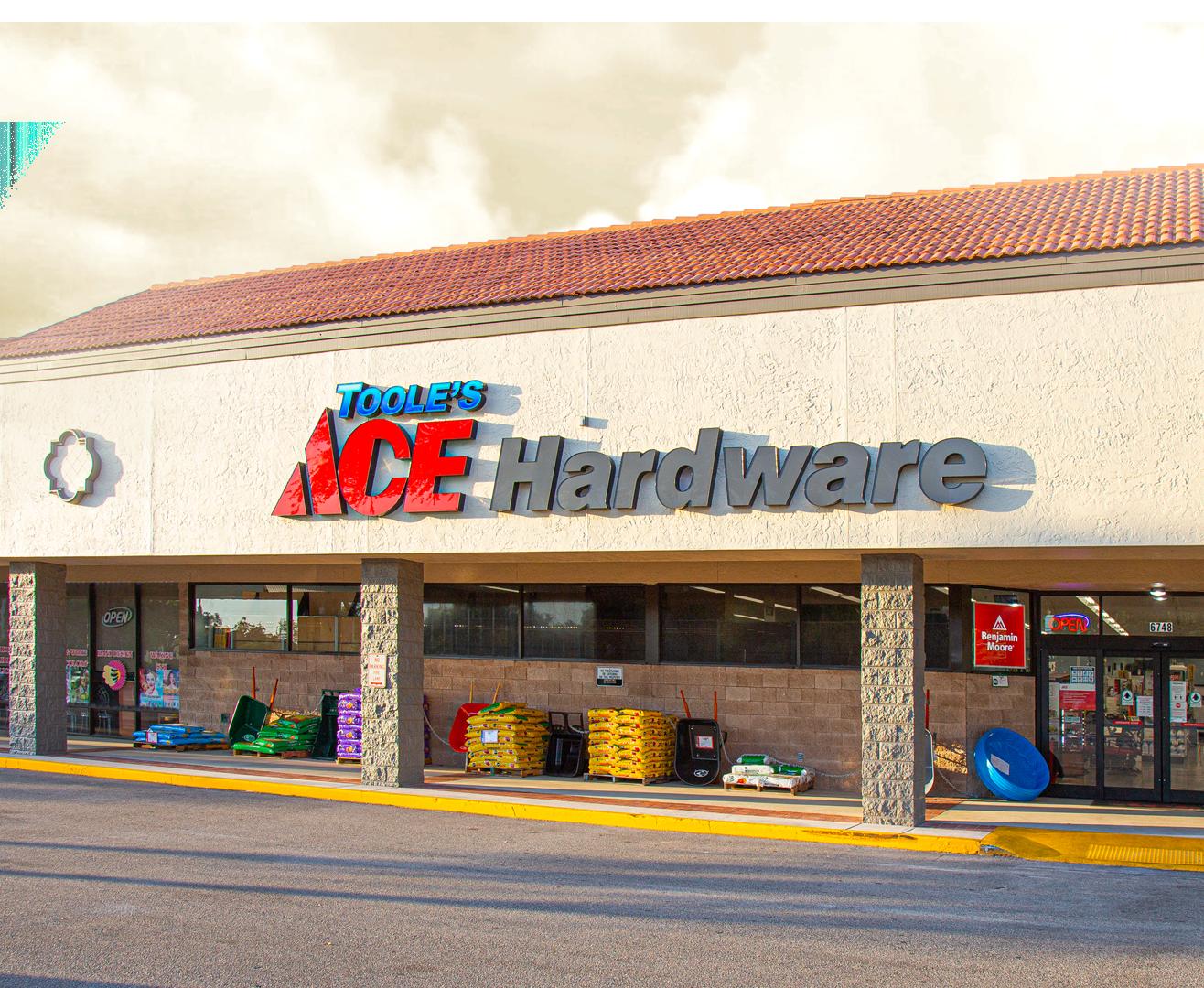 Aloma Ace Hardware Storefront